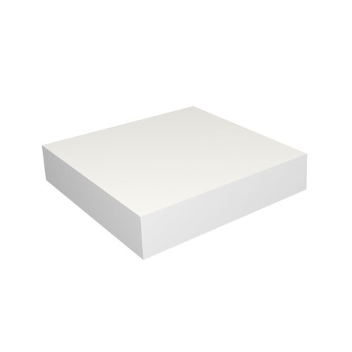 white floating small shelf wayfair. Black Bedroom Furniture Sets. Home Design Ideas
