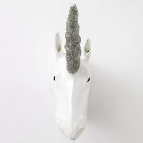 DwellStudio Unicorn Papier-Mâché Head