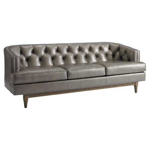 DwellStudio Chester Leather Sofa