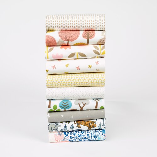 DwellStudio Meadow Fitted Crib Sheet