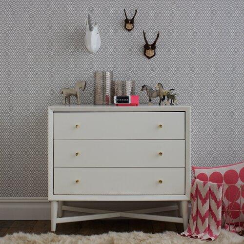 mid century french white dresser wayfair. Black Bedroom Furniture Sets. Home Design Ideas