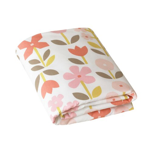 DwellStudio Rosette Fitted Crib Sheet