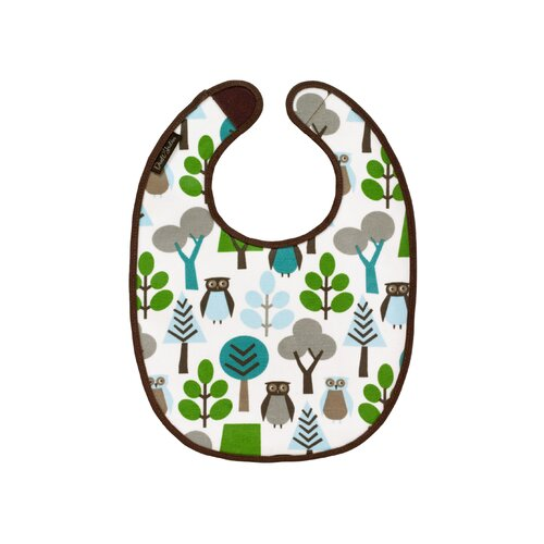 DwellStudio Owls Muslin Bib (Set of 2)