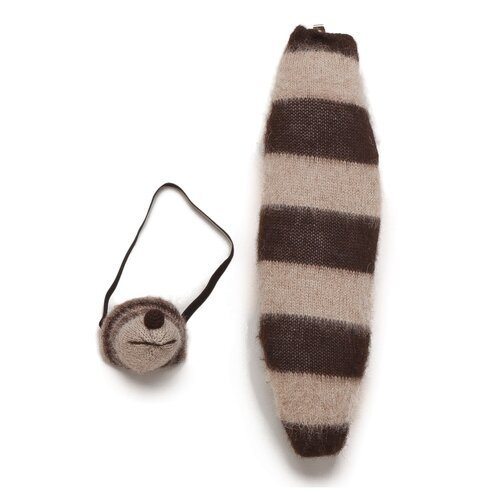 DwellStudio Woodland Raccoon Mask & Tail Set