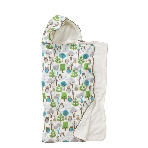DwellStudio Owls Hooded Towel