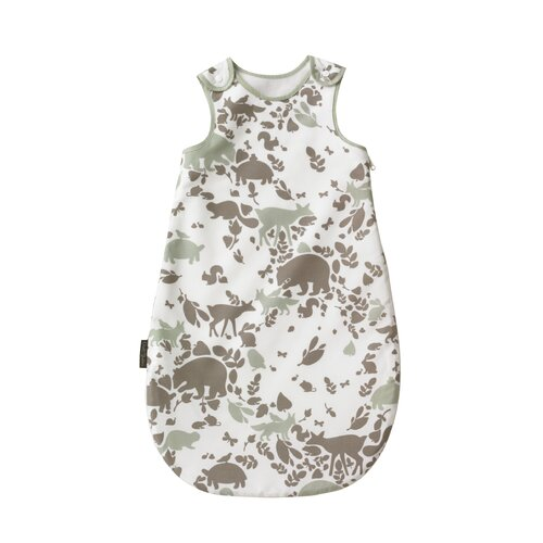 DwellStudio Woodland Tumble Mocha Flannel Lined Night Sack