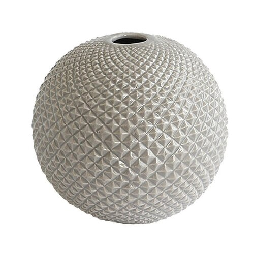 DwellStudio Diamond Cut Globe Vase
