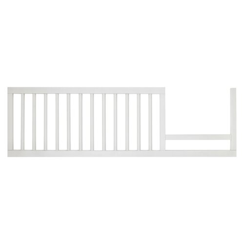 DwellStudio Mid-Century Toddler Rail in French White