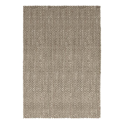 DwellStudio Herringbone Jute Grey Rug