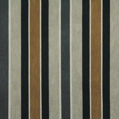DwellStudio Shifted Stripe Fabric - Toffee