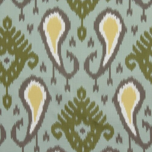 DwellStudio Batavia Ikat Fabric - Aquamarine