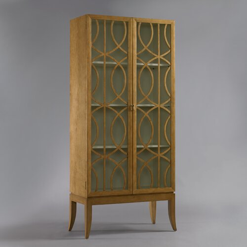 DwellStudio Gate Armoire in French Oak