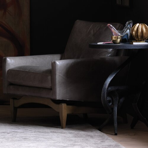 DwellStudio Irving Leather Chair