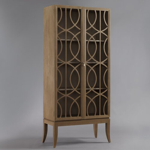 DwellStudio Gate Armoire in Belgian Grey