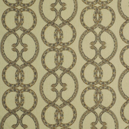 DwellStudio Snake Chain Fabric - Dove