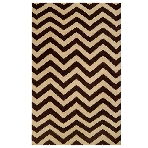 DwellStudio Chevron Brown Rug