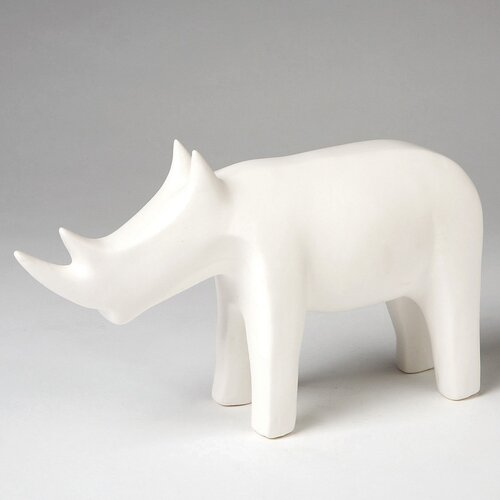 DwellStudio Rhino Objet in White