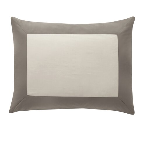 DwellStudio Modern Border Smoke Sham Pair