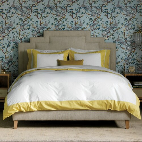 DwellStudio Modern Border Citrine Duvet Set