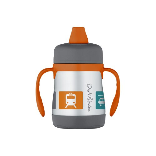DwellStudio Transportation Multi 7 oz Insulated Soft Spout Sippy Cup