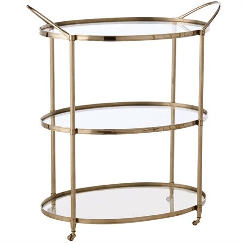DwellStudio Connaught Serving Cart