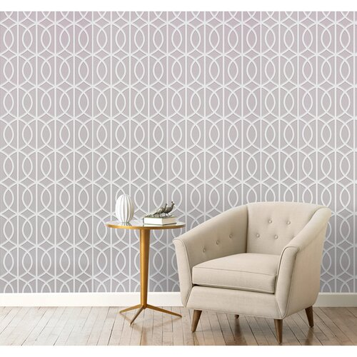 DwellStudio Gate Dove Wallpaper