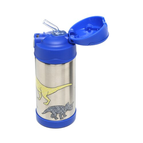 DwellStudio Dinosaurs 12 oz Funtainer Straw Bottle
