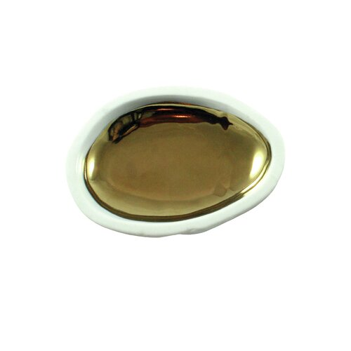 DwellStudio Marais Gold Glazed Pebble Dish
