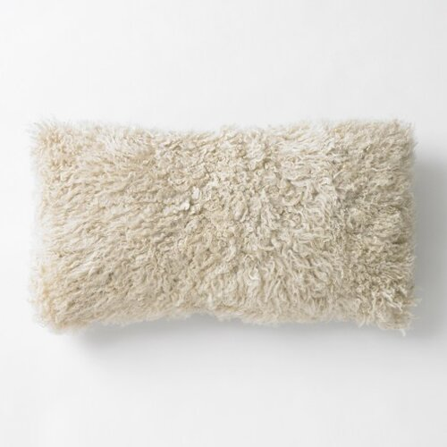 DwellStudio Sheepskin Long Pillow - SOLD OUT