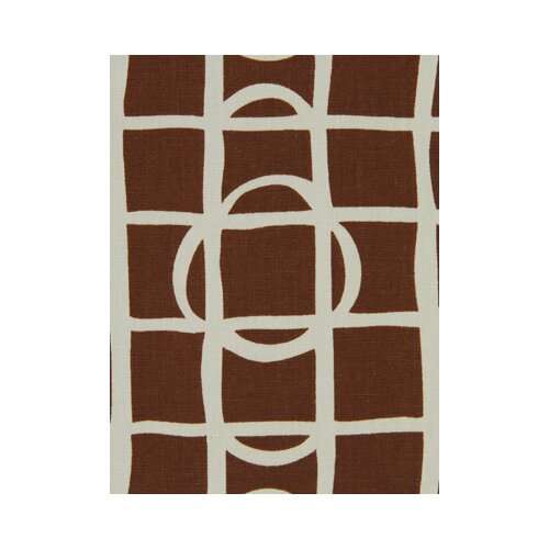 DwellStudio Lattice Graph Fabric - Copper