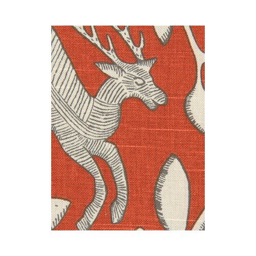 DwellStudio Pantheon Fabric - Persimmon