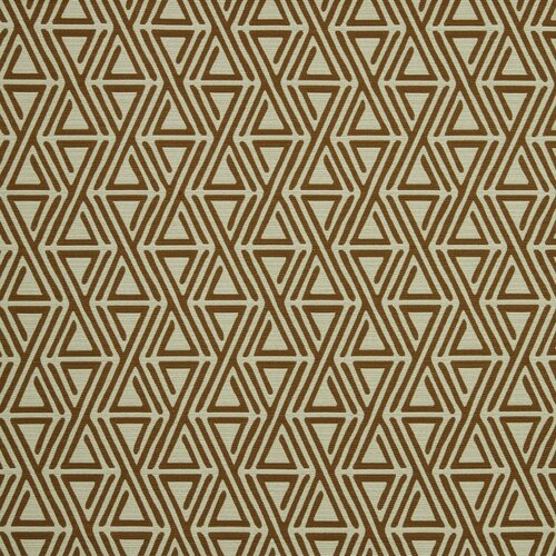 DwellStudio Triangle Maze Fabric - Copper