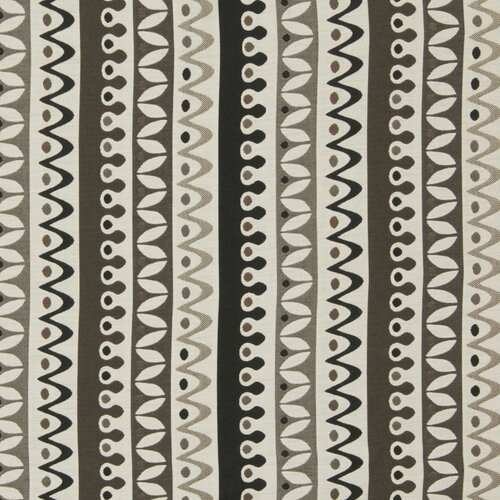 DwellStudio Nordic Stripe Fabric - Jet