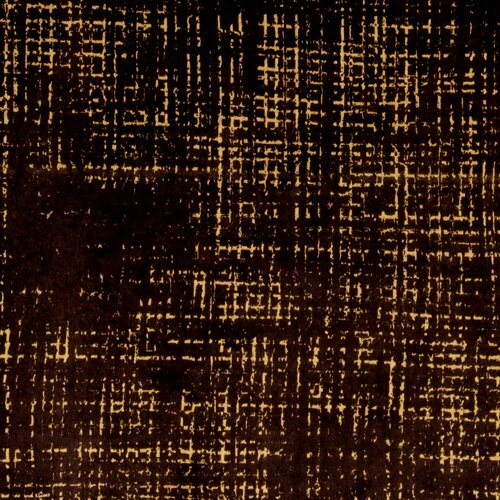 DwellStudio Etched Velvet Fabric - Espresso