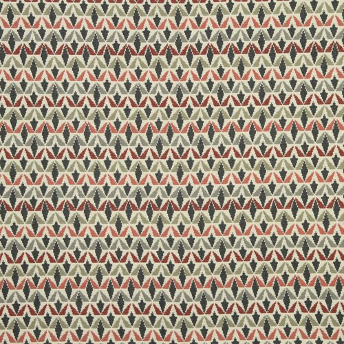 DwellStudio Grassland Fabric - Currant