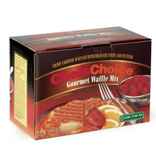 Chef's Choice Gourmet Waffle Mix