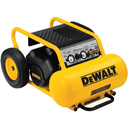 DeWalt 7.5 Gallon 1.5 HP Continuous 175 PSI Air Compressor