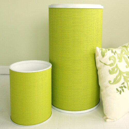 Brights Hamper with Wastebasket Set