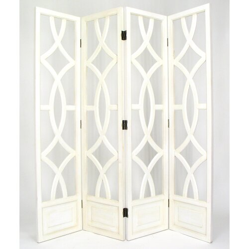"Wayborn 76"" x 72"" Charleston 4 Panel Room Divider"