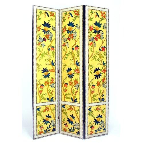 "Wayborn 72"" x 48"" Yanlan 3 Panel Room Divider"