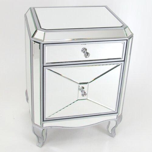 Beveled Mirror Cabinet