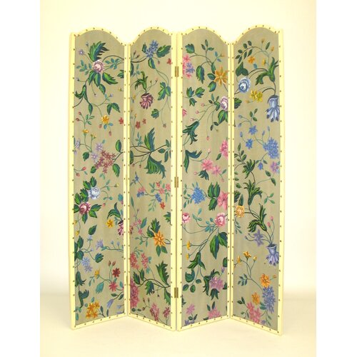"Wayborn 64"" x 72"" Wild Flower 4 Panel Room Divider"