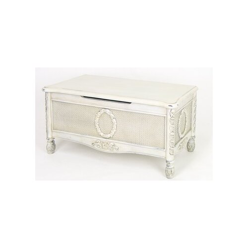 Wayborn Antique Rattan Chest
