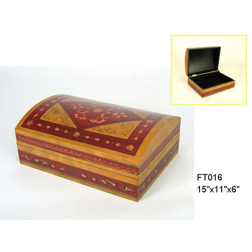 Hand Painted Lacquer Box