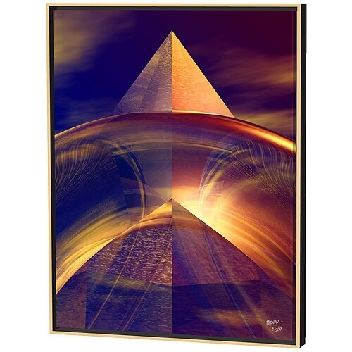 Menaul Fine Art Rich Reflections Limited Edition by Scott J. Menaul Framed Graphic Art