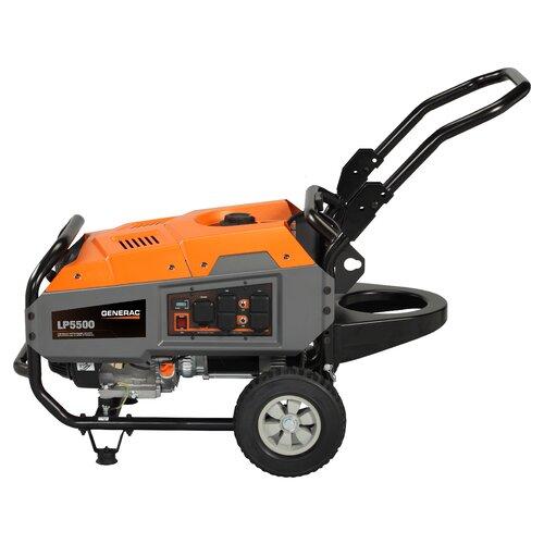Portable LP 5,500 Watt Gasoline Generator