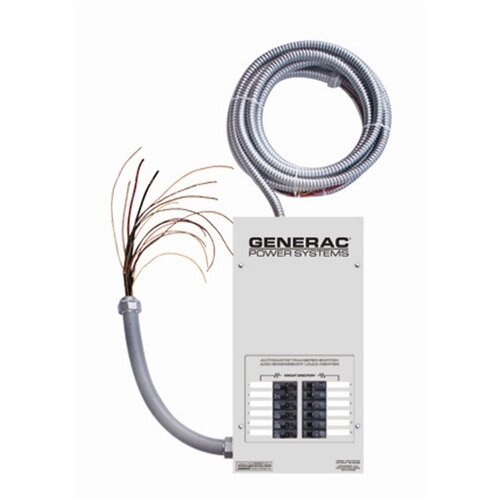Generac 12- Circuit Transfer Switch w/ Load Center