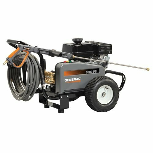 Generac 3000 PSI / 3 GPM Gas Powered Contractor Power Pressure Washer