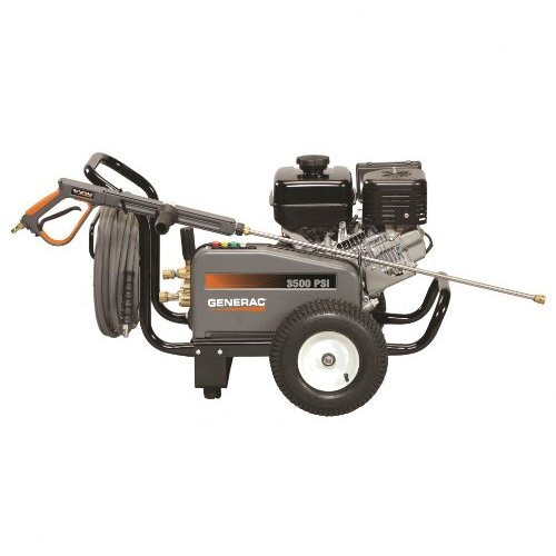 Generac 3500 PSI / 3.7 GPM Gas Powered Contractor Power Pressure Washer