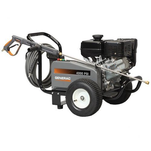 4000 PSI / 3.4 GPM Gas Powered Contractor Power Pressure Washer